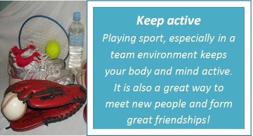 Keep active
